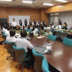 「東京都立芝商業高等学校 宿泊防災訓練の見学会」を実施しました