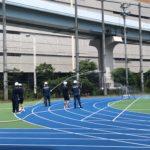 「東京都立芝商業高等学校 防災訓練の見学会」を実施しました